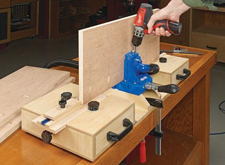 Pocket-Hole Jig Workstation