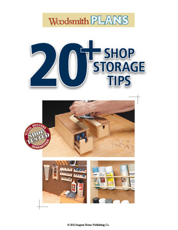 20+ Shop Storage Tips