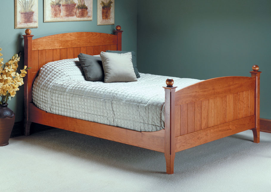 Solid wood and rock-solid joinery mean this bed is sure to become a family classic for generations to come.