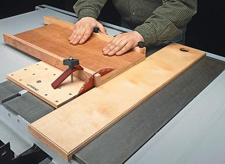 Multipurpose Table Saw Sled