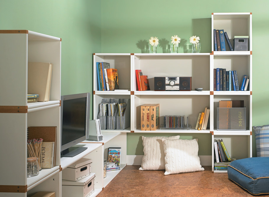Stack up your storage in any space, in any configuration, any way you like!