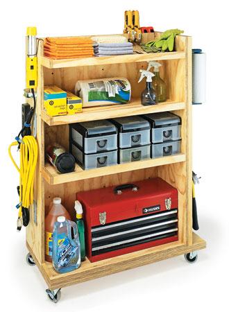 Garage Storage Cart