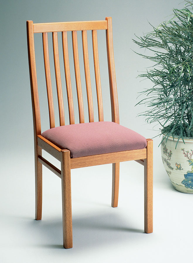 Ladder Back Dining Chair Woodworking Project Woodsmith