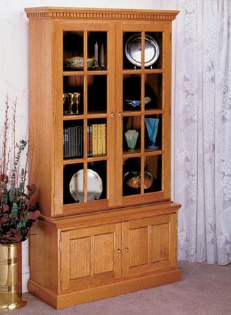 Tall Oak Cabinet