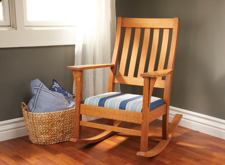 Magnificent Rocking Chair Woodworking Project Woodsmith Plans Lamtechconsult Wood Chair Design Ideas Lamtechconsultcom