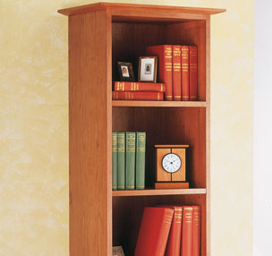 Easy-To-Build Tower Bookcase
