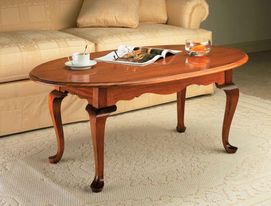 This coffee table is covered in authentic period details, but its straightforward construction won't throw you any curves.