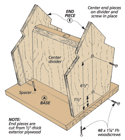 This project gives you the chance to try your hand at installing cedar shingles and copper roofing without having to remodel your house.