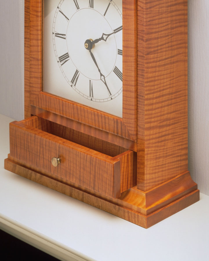 You expect a large project to attract a lot of attention. But sometimes, a small weekend project, like this mantel clock, can surprise you.