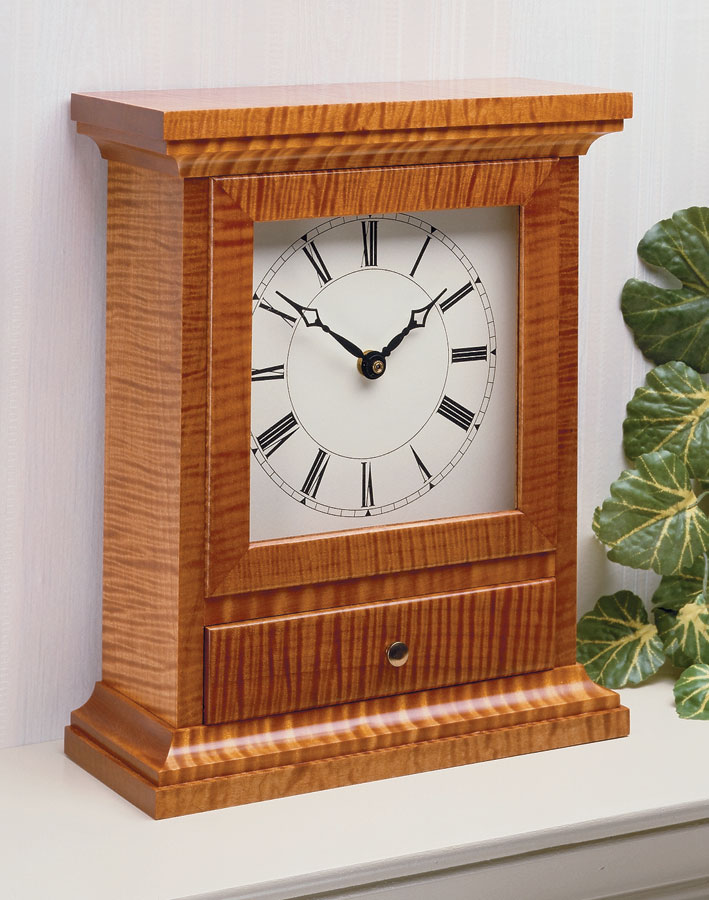 Mantel Clock Woodworking Project Woodsmith Plans