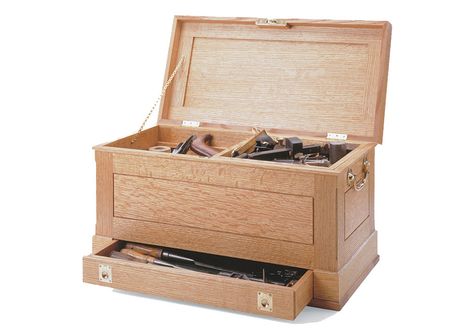 With basic joinery and plenty of storage space, this chest is designed to last for generations.