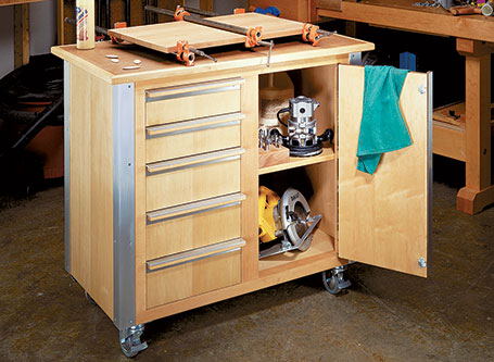 Roll-Around Tool Cart