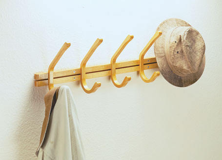 Laminated Coat Rack