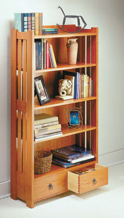 Two-Drawer Bookcase