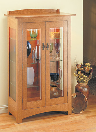Craftsman Curio Cabinet