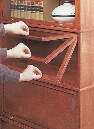 Barrister S Bookcase Woodworking Project Woodsmith Plans