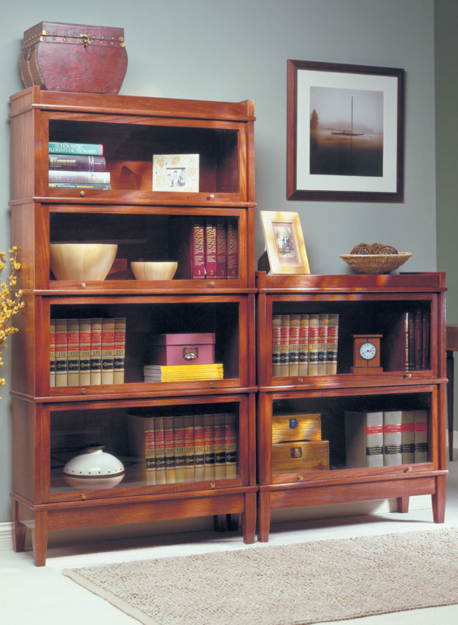 Barrister's Bookcase | Woodworking Project | Woodsmith Plans
