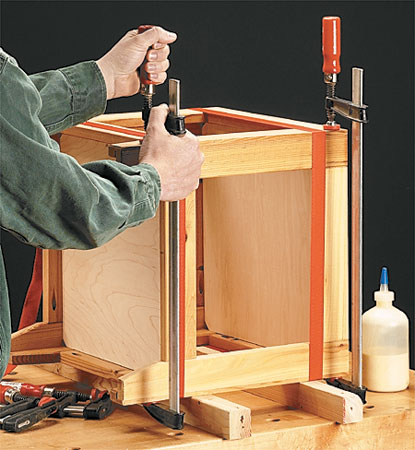Tile Top Table Woodworking Project Woodsmith Plans