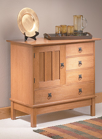 Craftsman-Style Cabinet