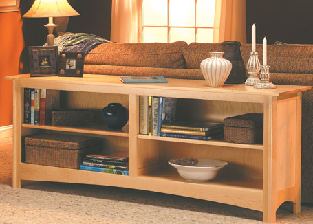 Sofa Table Bookcase