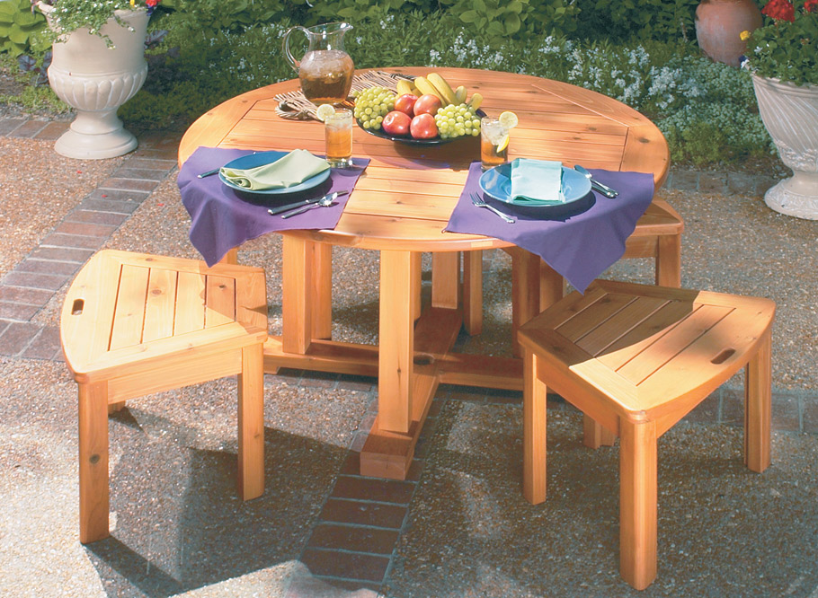 Here's an outdoor project that's built with the same care and craftsmanship as fine, indoor furniture.