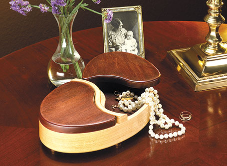Oval Jewelry Box