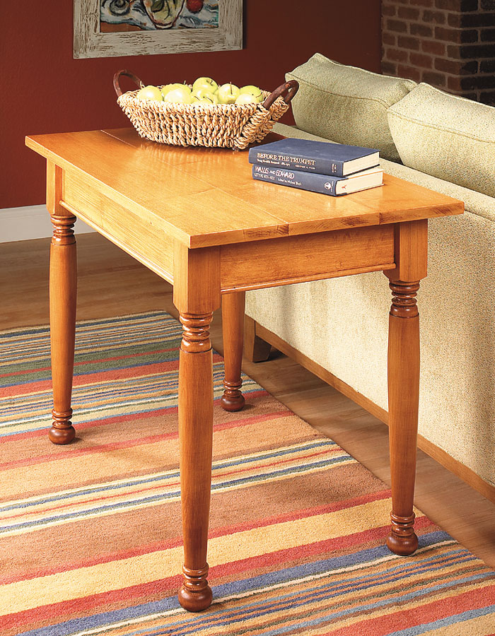 Heirloom Tables Woodworking Project Woodsmith Plans
