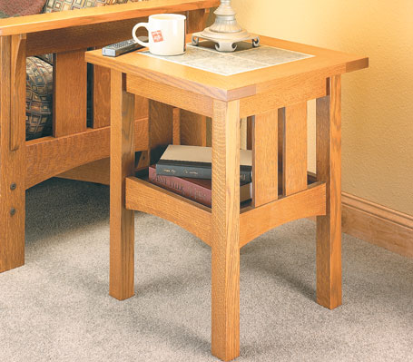 Tile-Top Craftsman Table