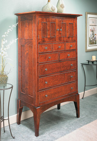 High-Style Tall Chest