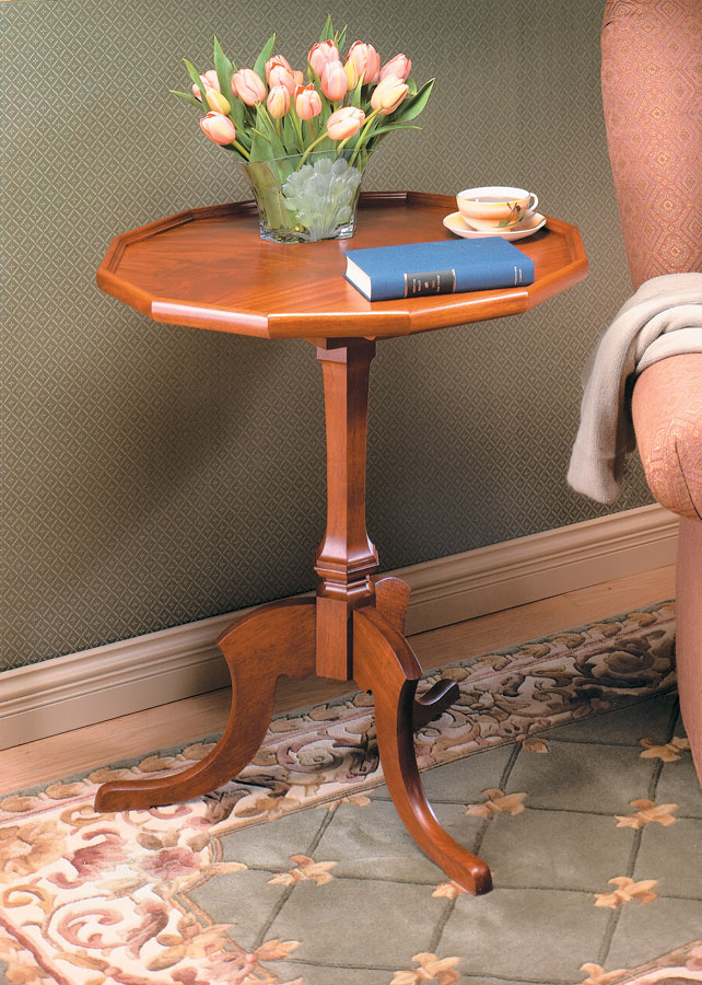 Tip Amp Turn Table Woodworking Project Woodsmith Plans