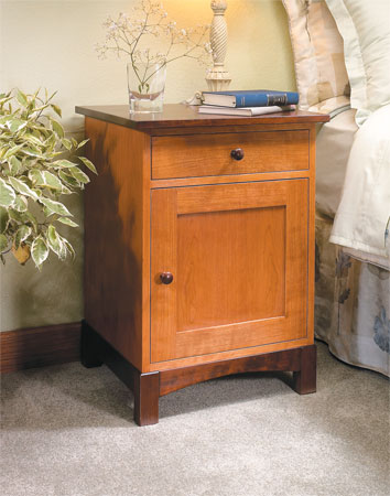 Two-Tone Night Stand