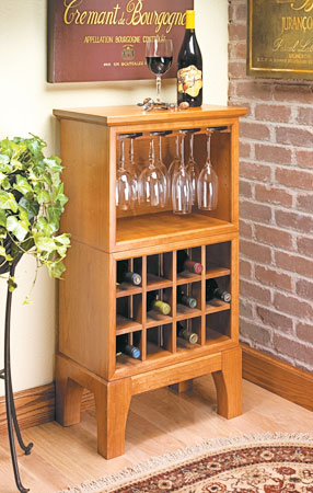 Modular Wine Server