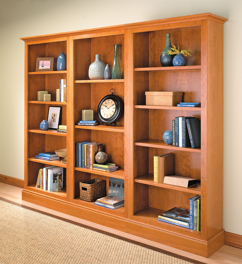 Whether you build one, two, or three, this bookcase will blend into any room. And it's as easy to construct as it is useful and beautiful.