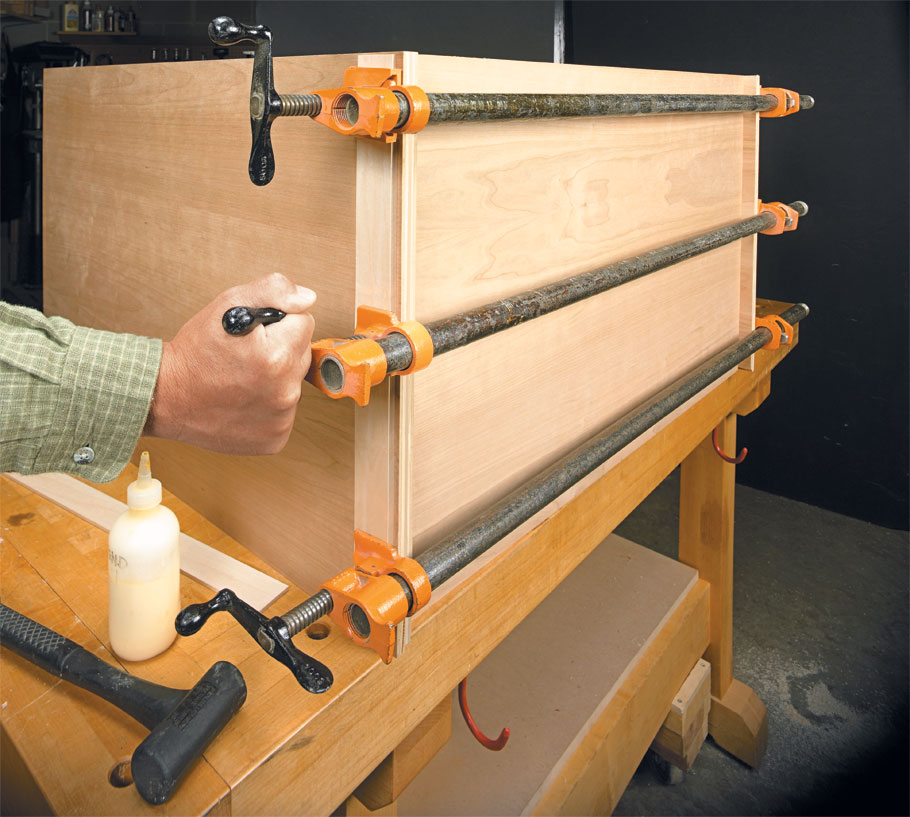 These simple guidelines help you take the stress out of gluing up a project.