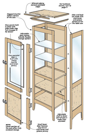 You won't believe how quickly this project can be built. The key is simple, traditional joinery.