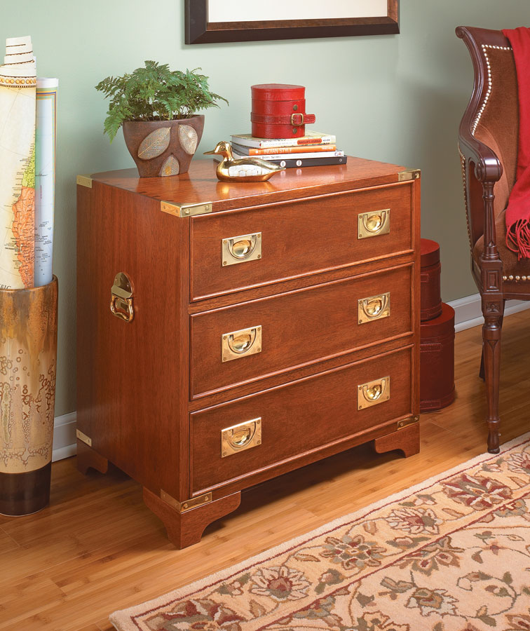 Packed with traditional details, you can build one or two of these small chests to add style and storage to your home.