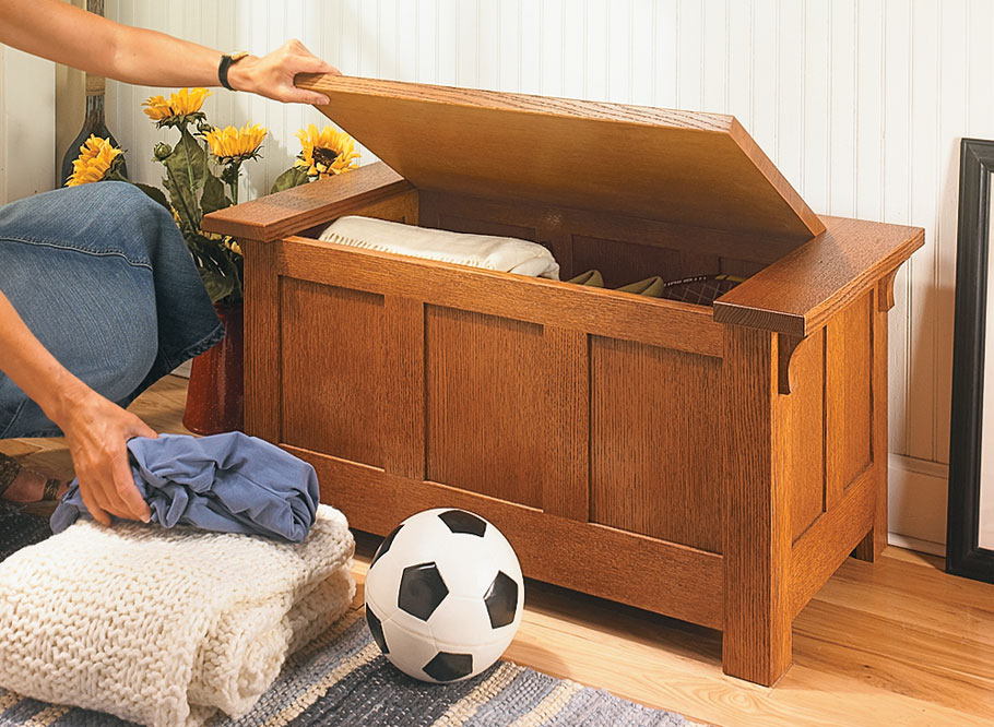 Solid frame and panel construction makes this bench as sturdy as it is attractive.
