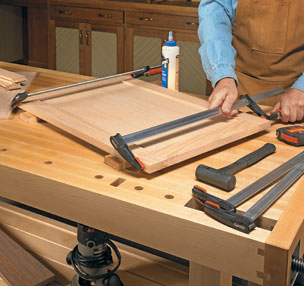 Stub Tenon & Groove Joinery