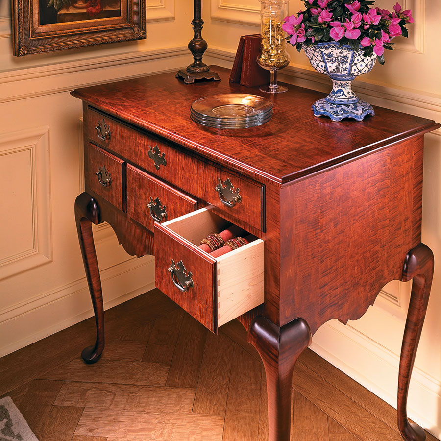 Perfect proportions and details make this classic hard to resist. Add some challenging woodworking, and you have a winning project.