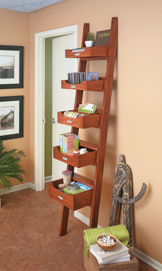 A display tower is a modern and unexpected alternative to a bookcase that maximizes space and adds interest to your home.