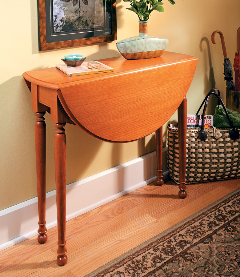 Swing Leg Table Woodworking Project Woodsmith Plans