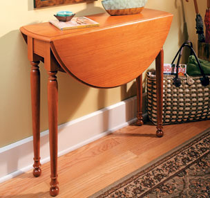 Swing-Leg Table