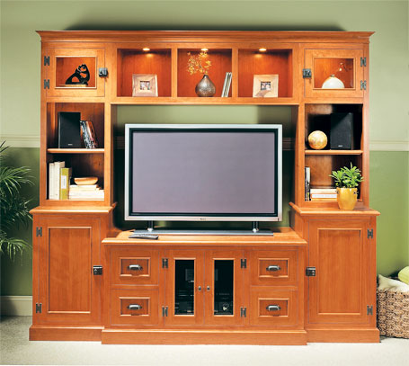 Flat-Screen Media Center