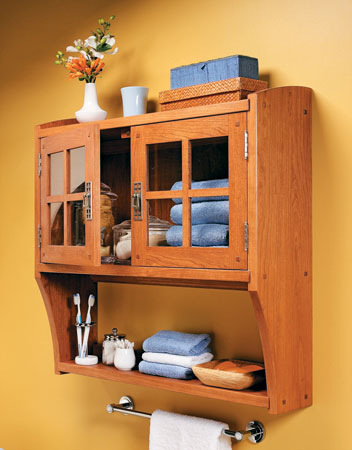 Craftsman Wall Cabinet
