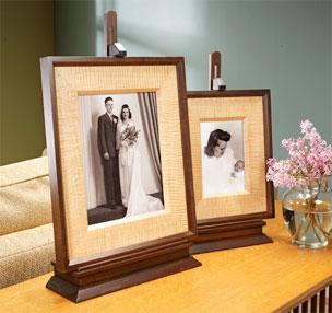 Mitered Frame & Easel
