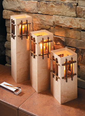 Tower Candle Stands