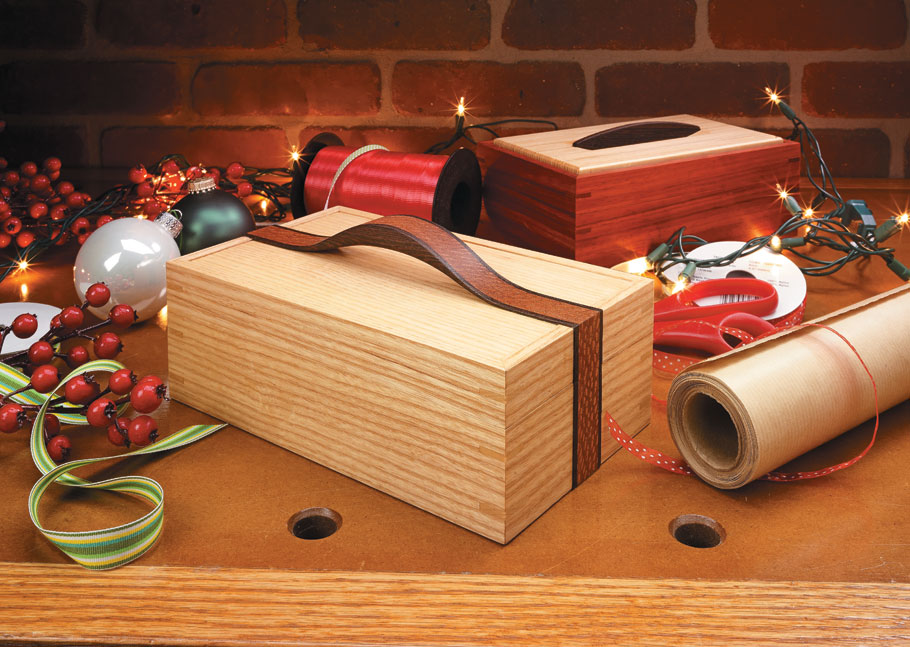 Ribbon Handle Box | Woodworking Project | Woodsmith Plans