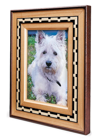 Inlaid Picture Frame