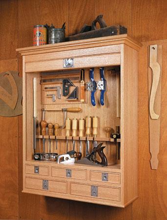 Tambour Tool Cabinet