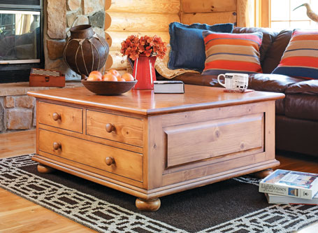 Country Classic Coffee Table